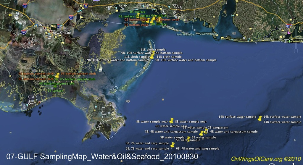 07c-GULF SamplingMap_Water-Oil-Seafood_20100830